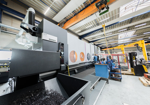 "2020 – Commissioning of the 5-axis machining centre ""IBARMIA"""