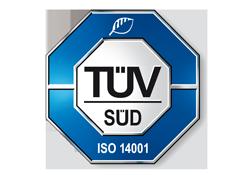 2011 | Zertifizierung nach ISO 14001